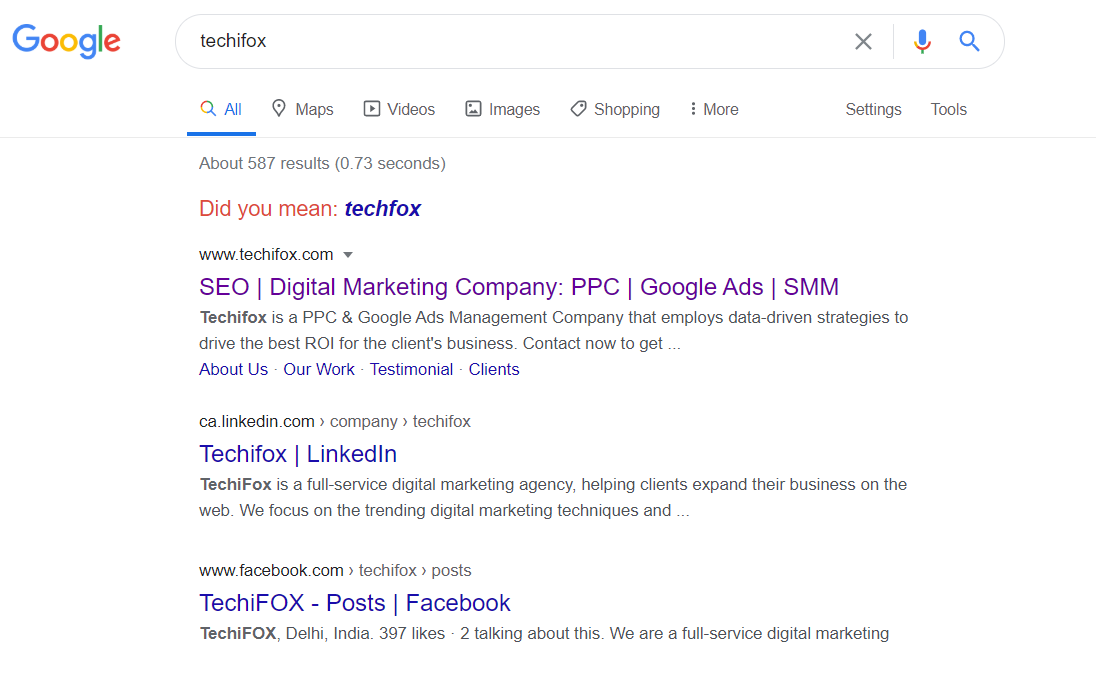 How to rank website in Google Search Results