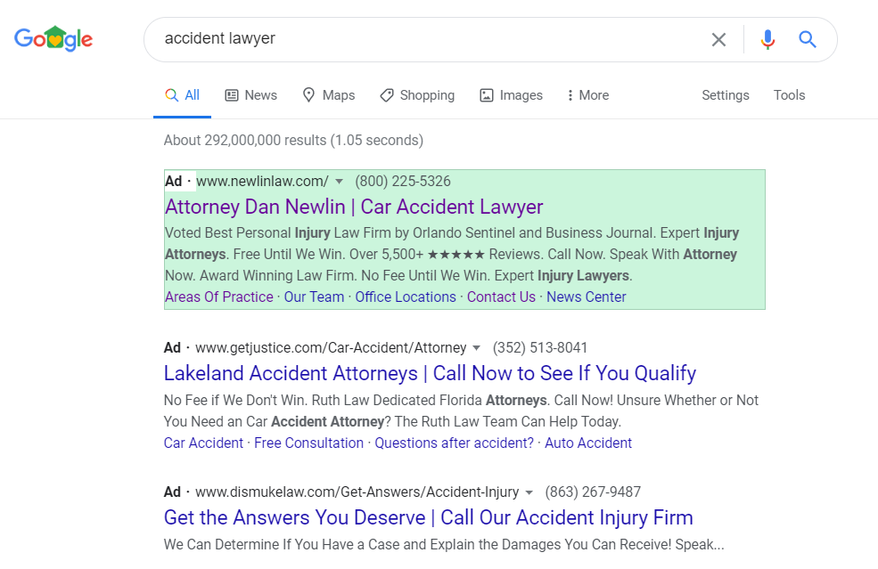 Lawyer PPC Services