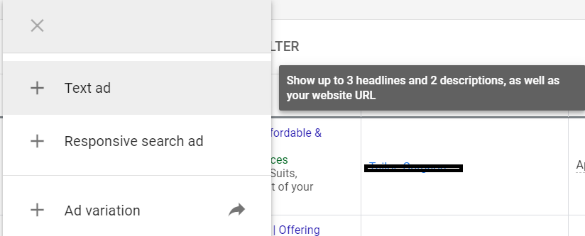 Google Ads Expanded Text Ads Update